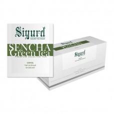 Чай зелёный в пакетиках для чашки Sigurd Sencha (Сигурд Сенча), 30шт.*2г.