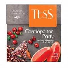 Чай травяной в пирамидках Tess Cosmopolitan Party (Тесс Космополитан Пати), 20*1,8 г