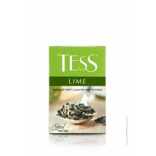 Чай зеленый листовой Tess Lime (Тесс Лайм), 100 г