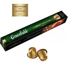 Чай в капсулах Nespresso Greenfield Garnet Oolong (Гарнет Оолонг), 10*2,5 г